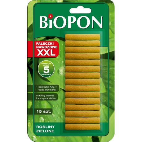 Pałeczki nawozowe XXL rośliny zielone