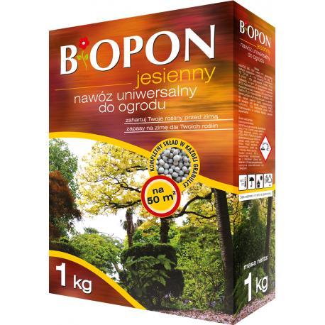 Biopon jesienny nawóz uniwersalny do ogrodu