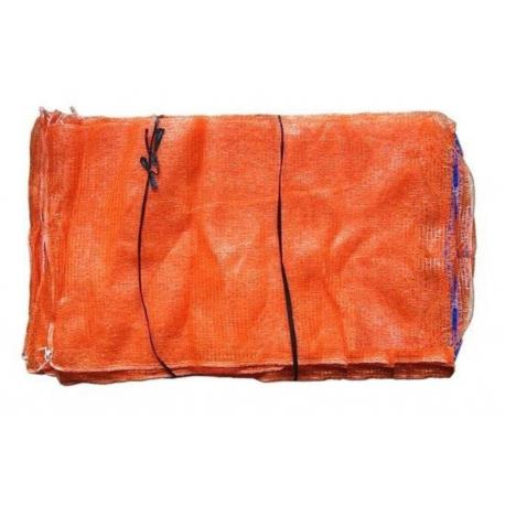 Worek ażurowy 50kg 60x110 pomarańczowy
