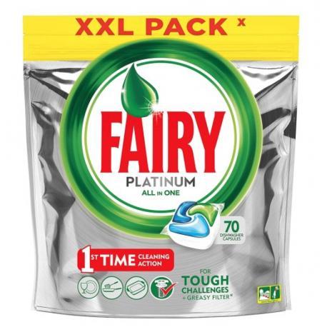 Fairy Platinum Lemon 70 szt.