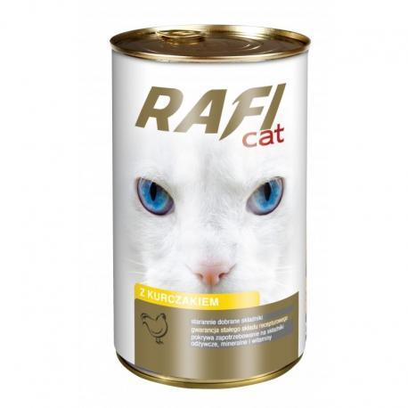 Karma RAFI CAT z kurczakiem 415 g