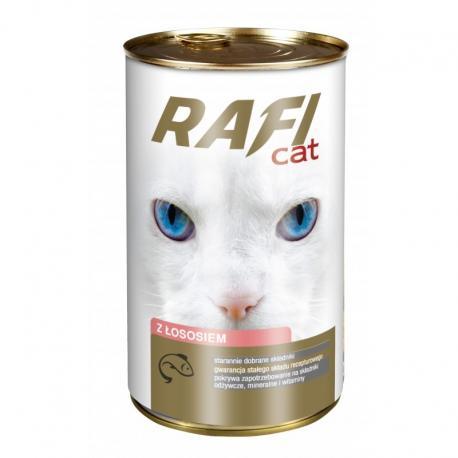 Karma RAFI CAT z łososiem 415 g