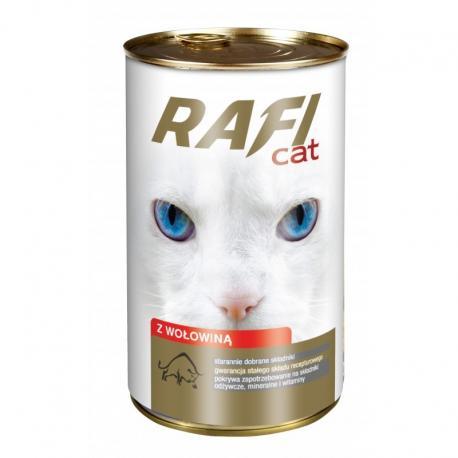 Karma RAFI CAT z wołowiną 415 g