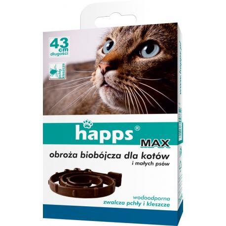 Obroża przeciw pchłom i kleszczom dla kotów