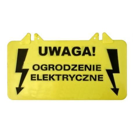 Tabliczka ostrzegawcza Ogrodzenie elektryczne
