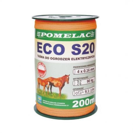 Taśma Eco S20 pomarańczowa - 200m