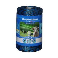 Plecionka Superbleu niebiesko-czarna - 200m