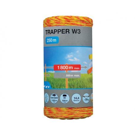 Plecionka Trapper W3 - 250 m (1,8 mm)