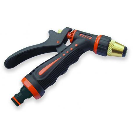 ECO-7205 Pistolet regulowany ZEBRA mosiądz-cynk
