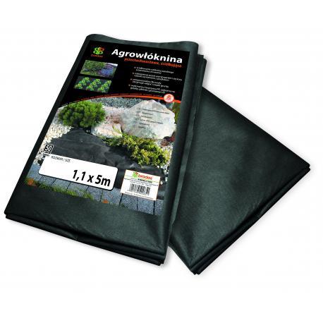 AWB5016005 Agrowłóknina 50 czarna, 1,6m x 5m
