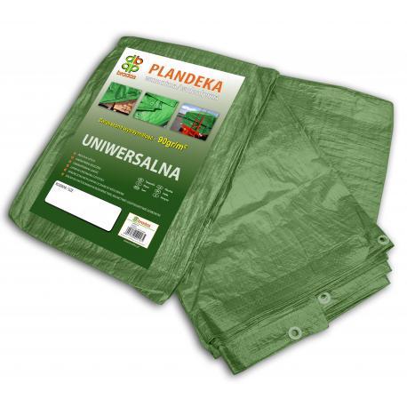 Plandeka zielona wzmacniana 6x12